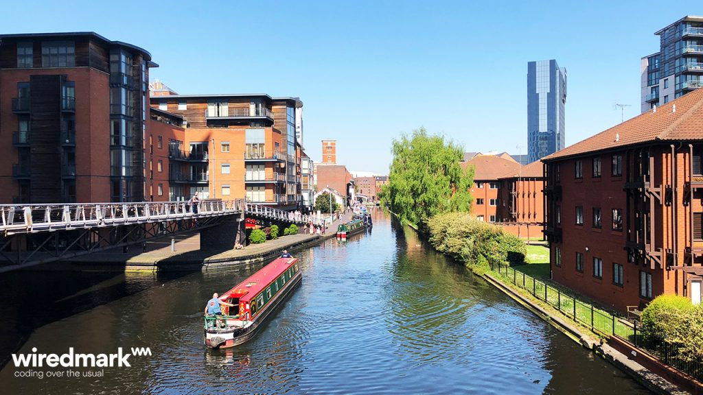 Web Design Agency Birmingham - Canal Photo