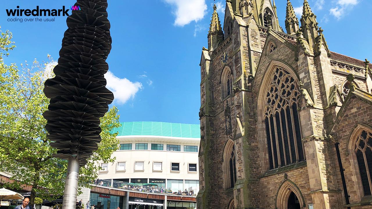Web Design Agency Birmingham - Church
