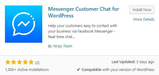 Facebook Messenger on WordPress